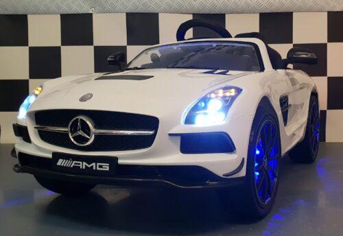 Mercedes sls elektrische kinderauto met afstandbediening