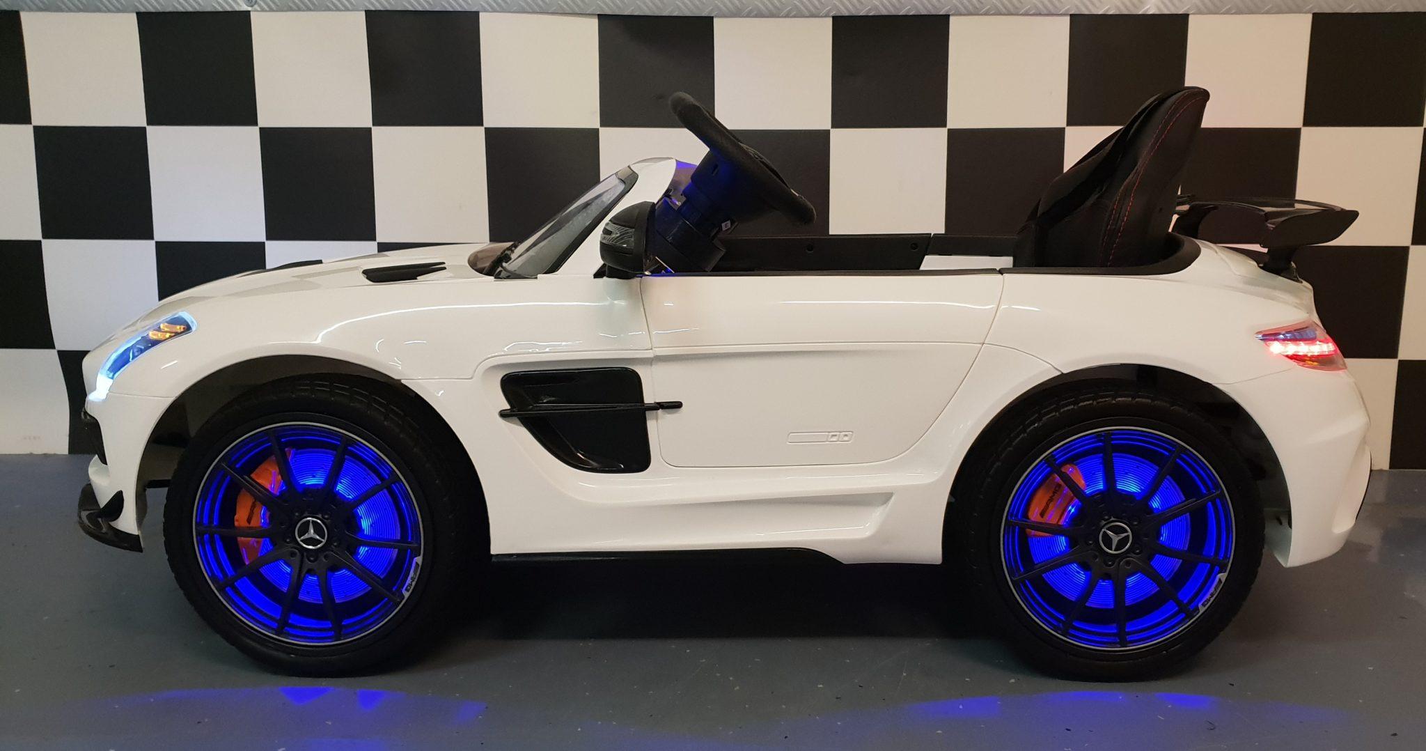 Betere Mercedes SLS elektrische kinderauto wit , 12 volt 2.4G WT-06