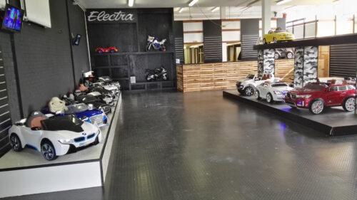 kinderauto winkel van Cars4kids Amsterdam
