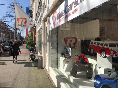 Ridecars kinderauto winkel Rotterdam