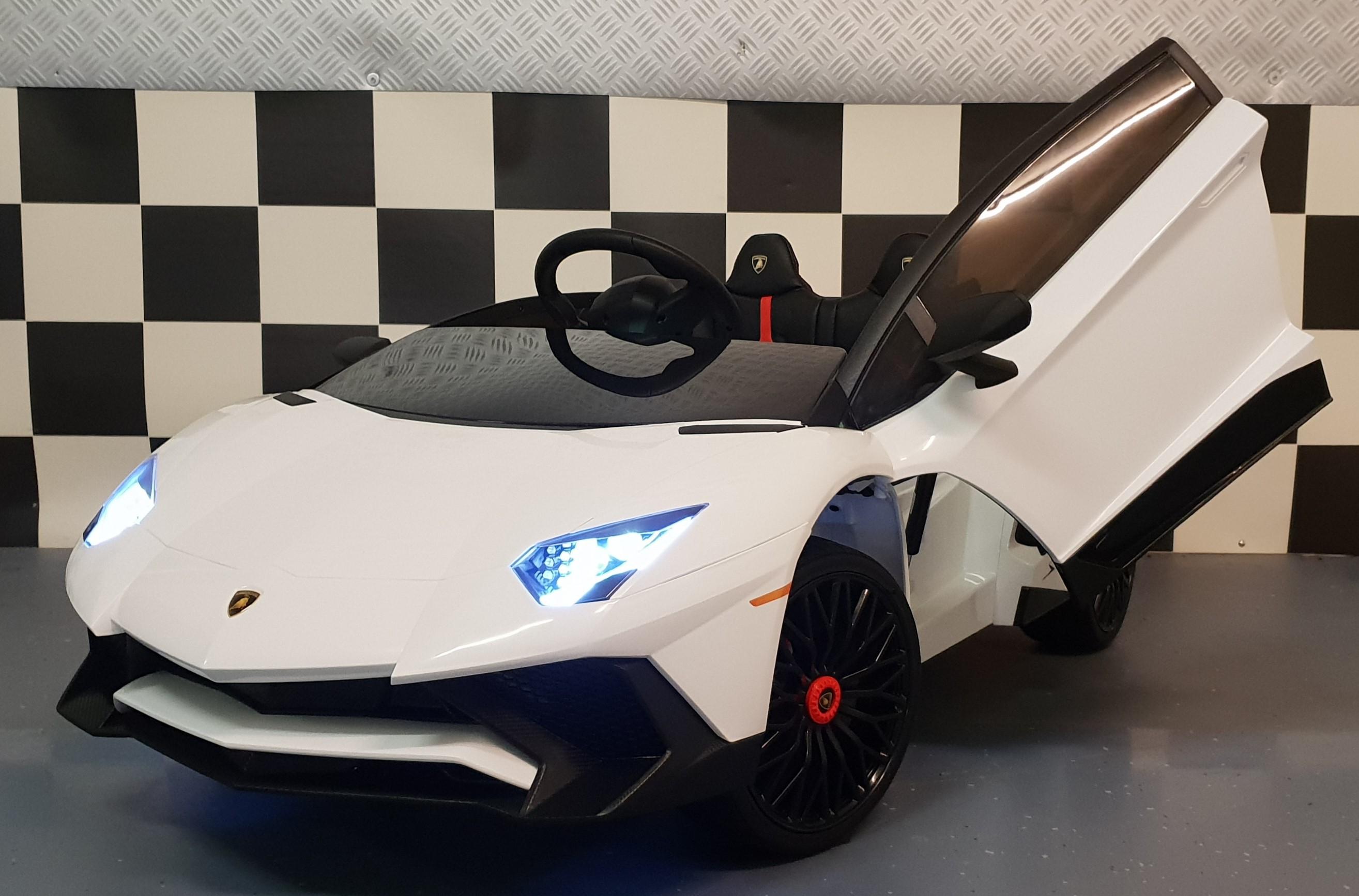 Lamborghini Roadster SV kinderauto 12V 2.4G RC wit
