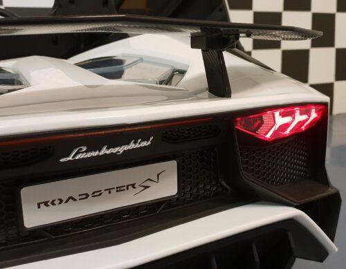 Lamborghini Roadster accu auto wit