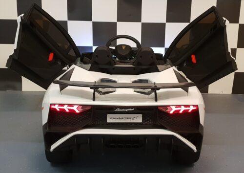Elektrische kinderauto Lamborghini 12V 2.4G wit