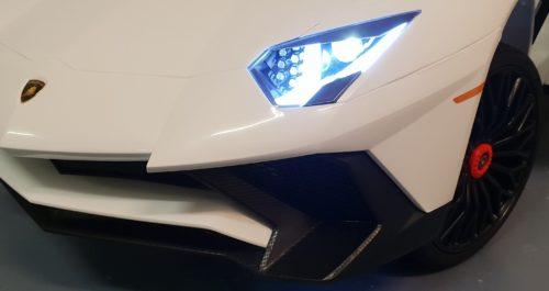 Speelgoedauto 12V Lamborghini wit