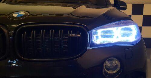 X6 speelgoedauto voor 2 kinderen zwart