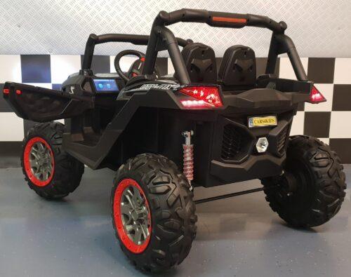 4WD elektrische kinder buggy Carbon 2.4G RG 2x12V