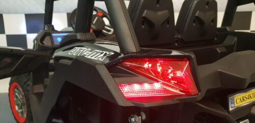 Buggy kinderjeep Carbon 4WD 2x12V
