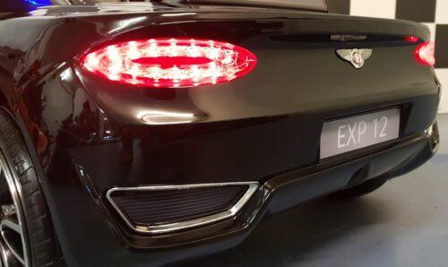 EXP 12 elektrische Bentley kinderauto zwart