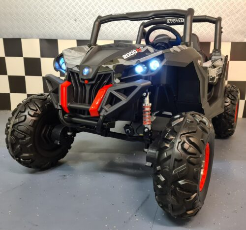 Buggy 2 persoons kinderauto