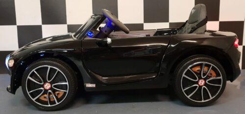 Elektrische kinderauto Bentley EXP 12 zwart 12V 2.4G