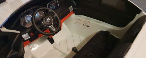 M serie X6 kinderauto wit 12 volt