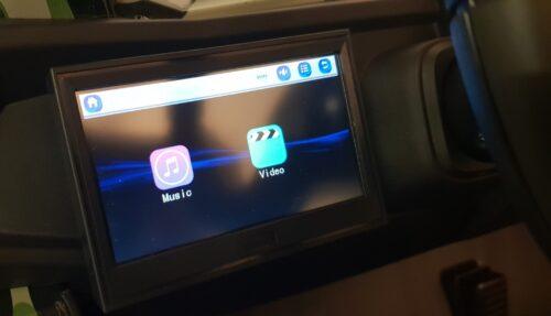 MP4 scherm buggy kinderauto
