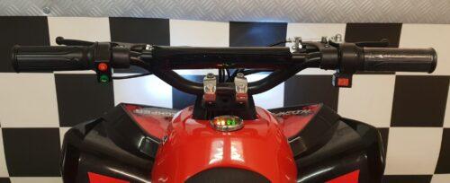 Mini quad elektrisch 48 volt rood