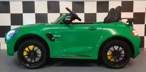 2 persoons kinderauto mercedes