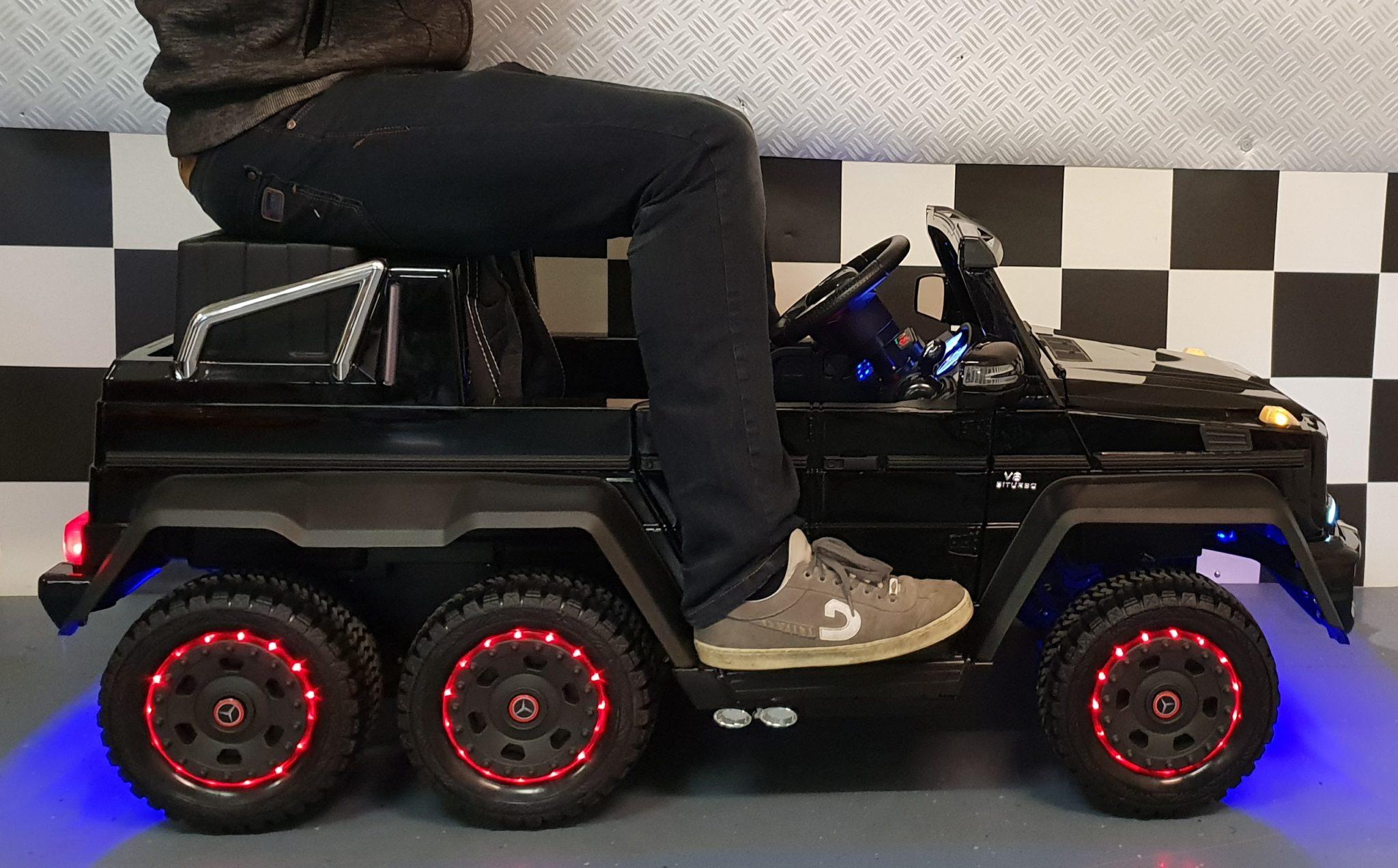 kinderauto mercedes benz g63 amg voor 2 personen duo zit. Black Bedroom Furniture Sets. Home Design Ideas