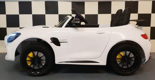 Mercedes elektrische accu auto voor 2 kinderen
