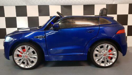 elektrische kinder auto Jaguar blauw