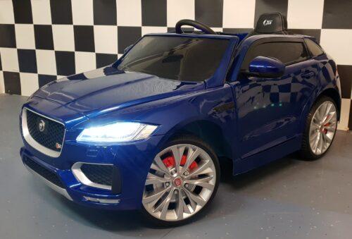 elektrische kinderauto jaguar met afstandsbediening