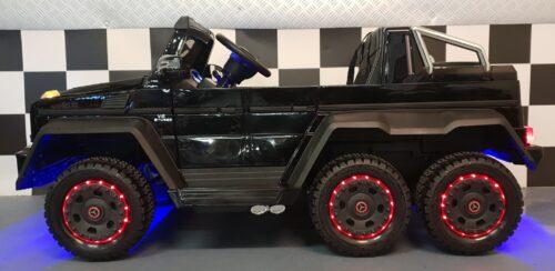 g63 kinderauto met 6 wielen