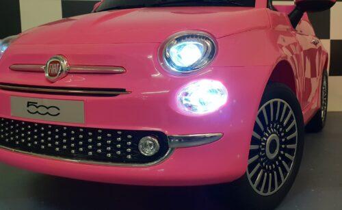 speelgoedauto kinderauto fiat 500