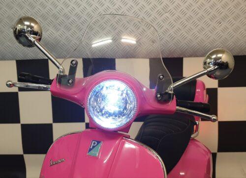 vespa kinder elektrische scooter roze