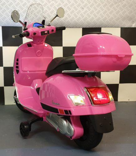 vespa kinderscooter accu scooter roze