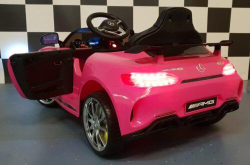 Mercedes roze speelgoedauto