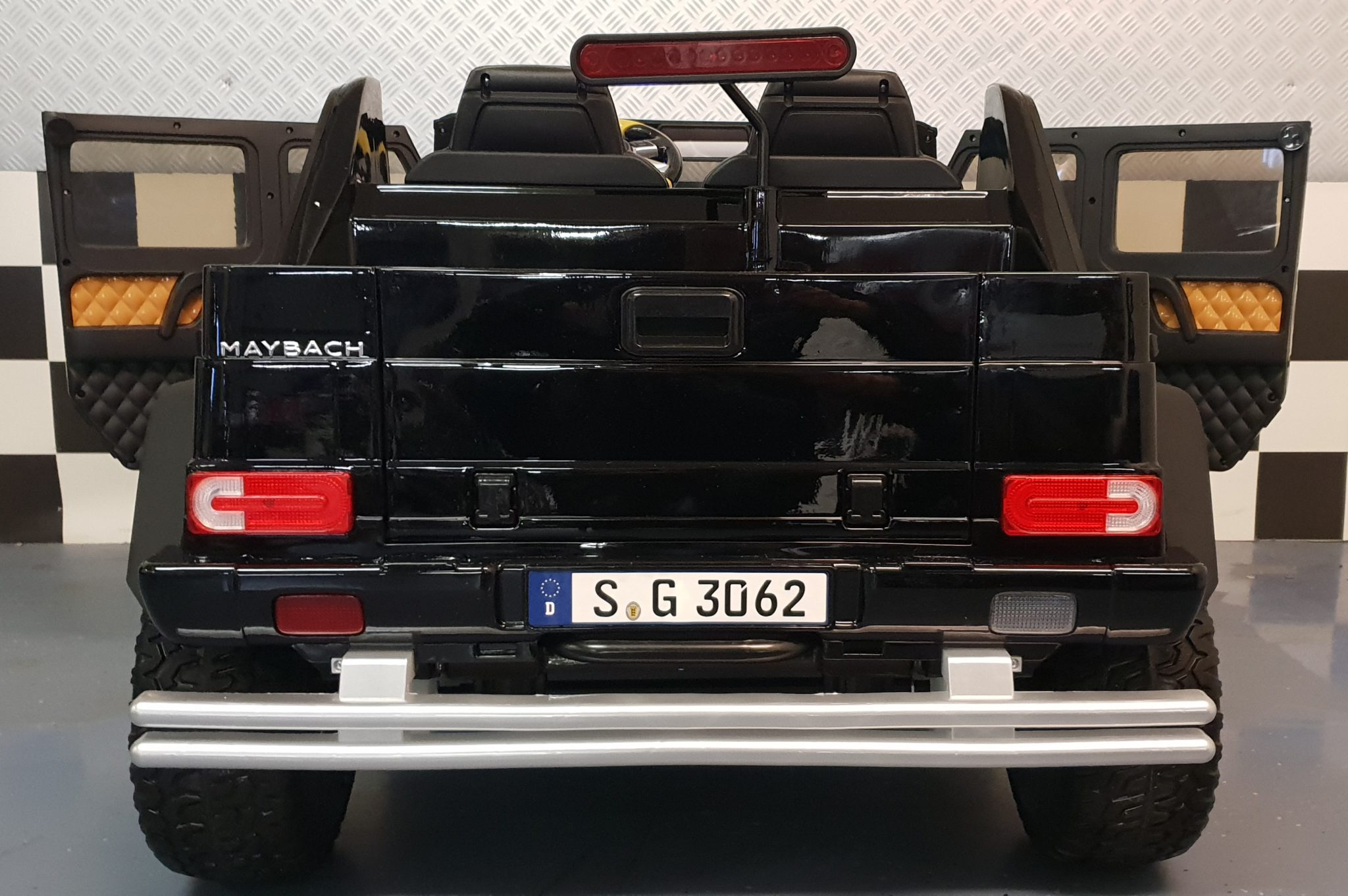 Accu Kinderauto Mercedes G650 Maybach 2 Persoons Cars4kids