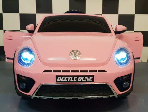 beetle kinderauto roze