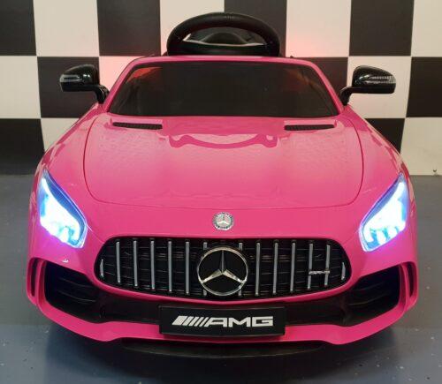 mercedes roze speelgoed auto