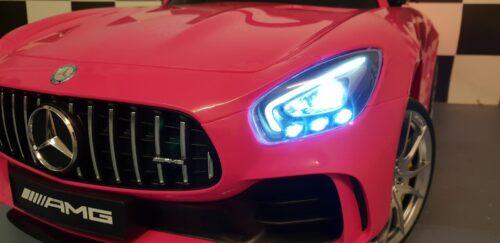 roze accu speelgoed auto