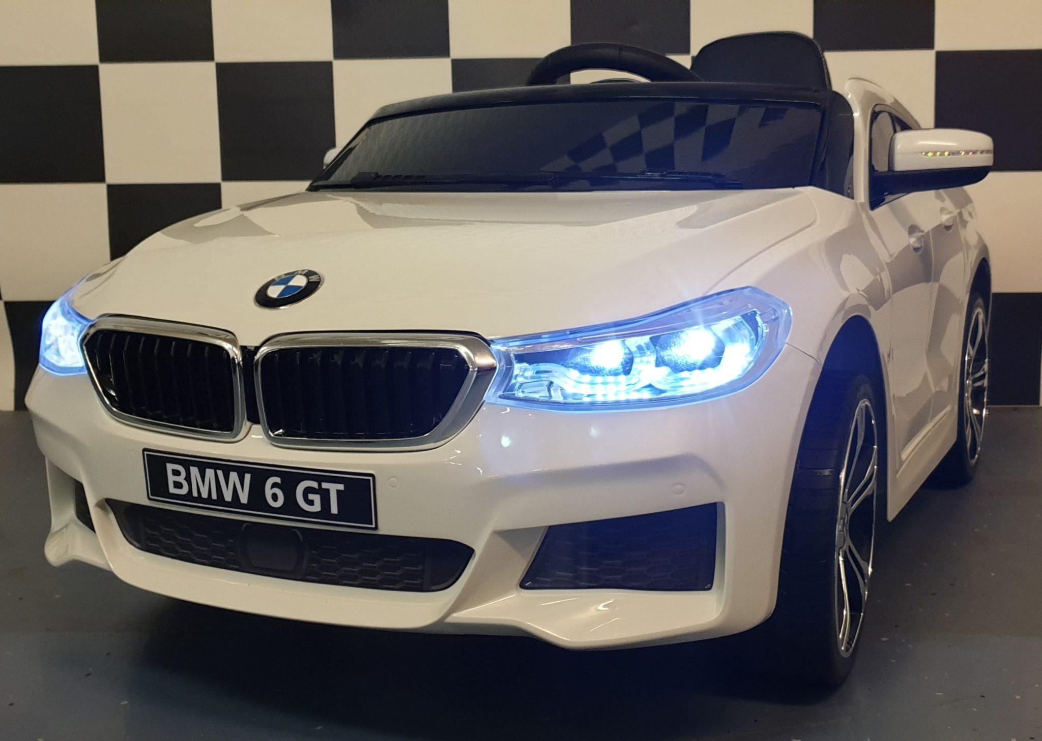 Accu auto BMW GT 12 volt 2.4G afstandsbediening wit