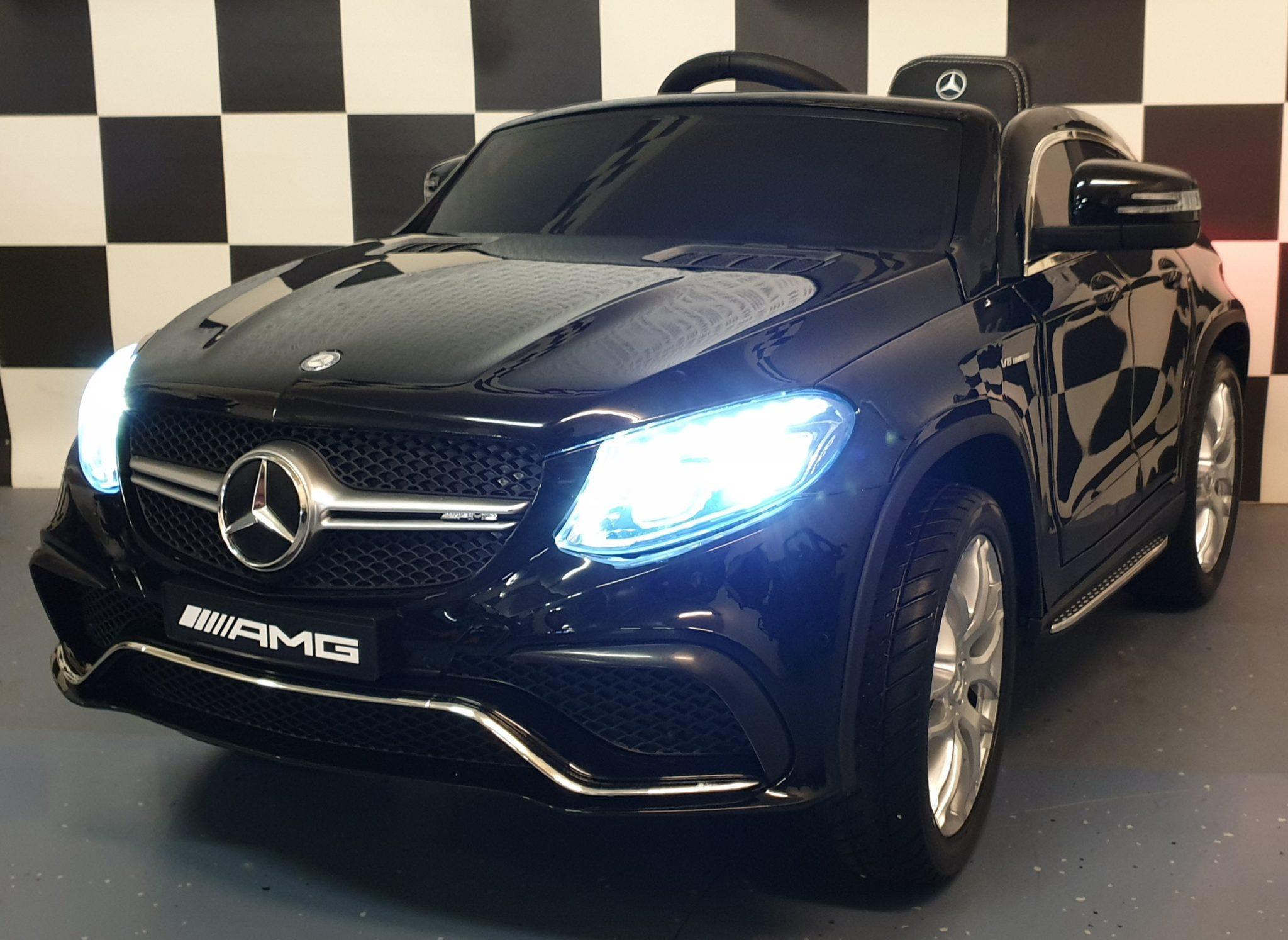 Mercedes accu auto AMG GLE 2.4G RC 12V zwart