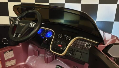bentley roze kinder speelgoed auto
