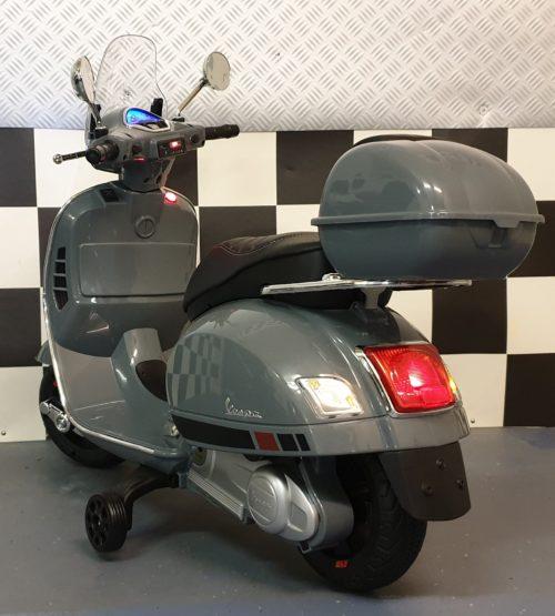 vespa scooter voor kind grijs