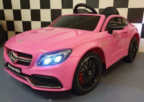 auto kind roze