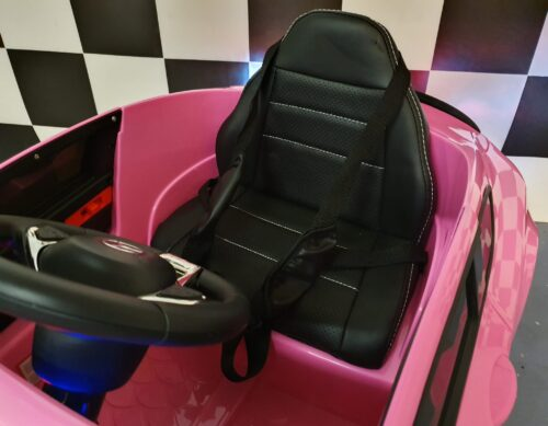 kinder auto roze