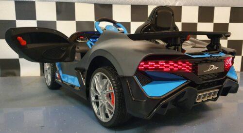 Bugatti Divo grijs 12volt