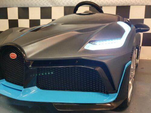 Bugatti accu auto mat grijs