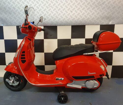 Elektrische accu kinder scooter Vespa