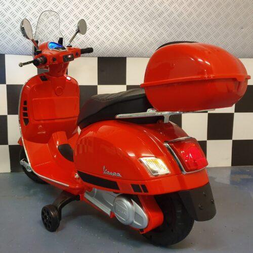 Vespa accu kinderscooter