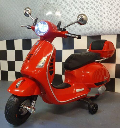 accu kinder scooter vespa cars4kids