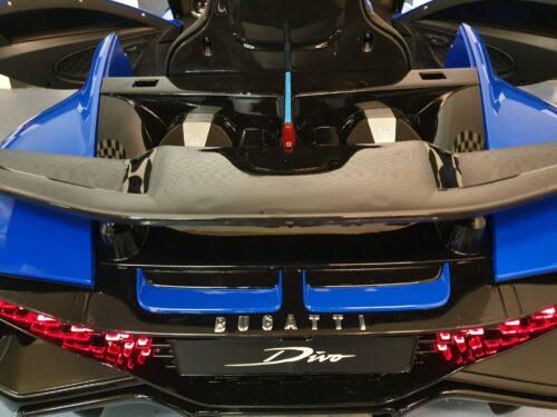 bugatti kinderauto blauw