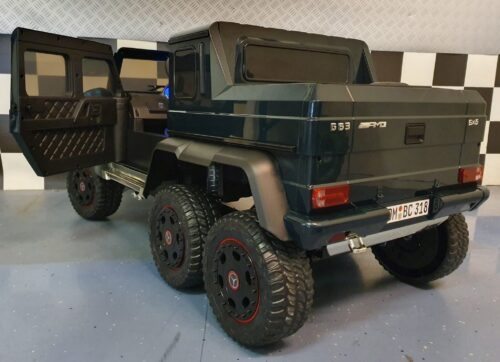 kinder accu jeep 6x6 mercedes