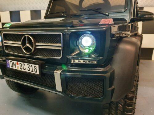 kinderauto 6x6 groen