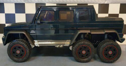 mercedes elektrische kinder jeep 6x6