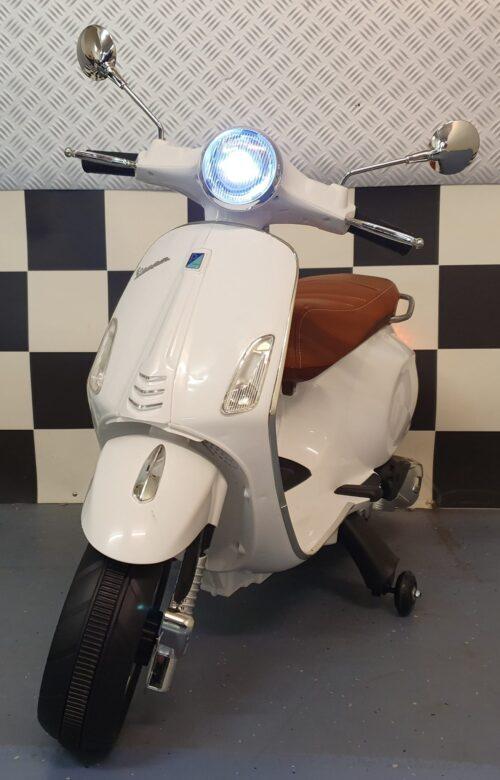 Vespa accu kinderscooter Primavera wit