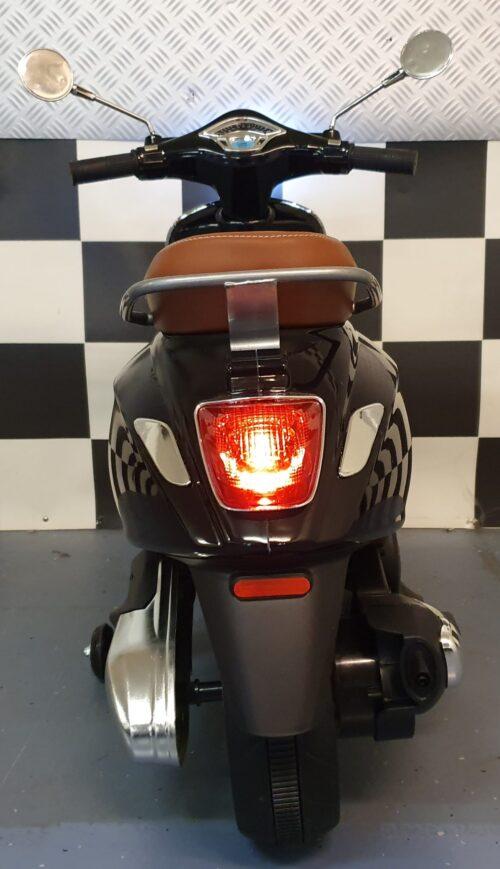 elektrische kinder scooter zwart