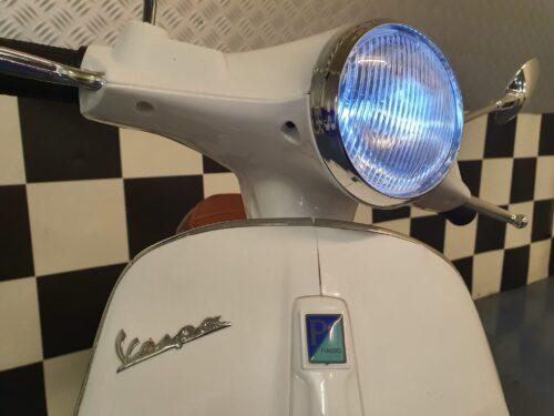 kinderscooter wit vespa