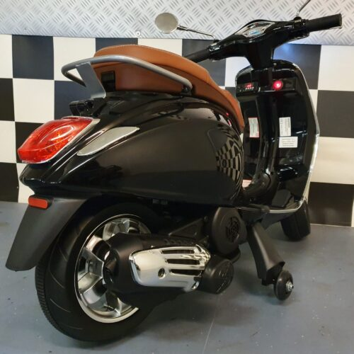 vespa kinder scooter zwart
